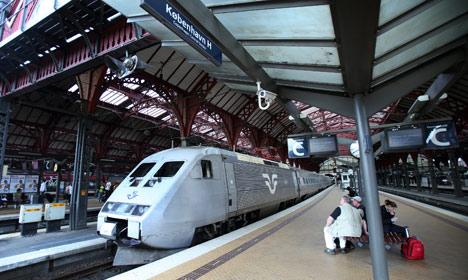 Attendant stabbed on Copenhagen-bound train