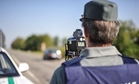 Speed camera stolen as Italian traffic cops slept