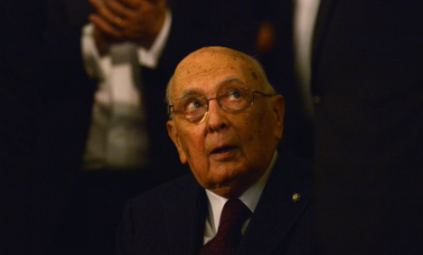 Italian president confirms resignation 'imminent'