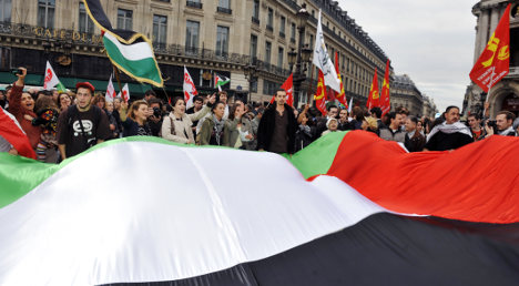 Senators urge France to recognise Palestine