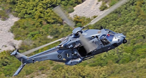 Missing Austrian hiker rescued by copter in NZ