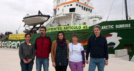 Greenpeace go on trial for Spain nuclear protest