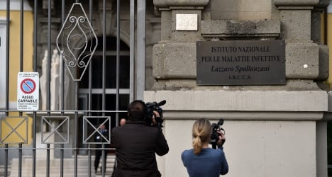 Italy's Ebola patient is getting better