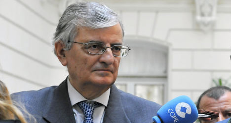 Spain's embattled chief prosecutor steps down