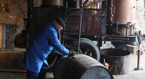 France's roving distillers roll out ancient brandy