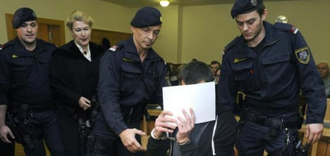 Romanian in court for brutal robberies