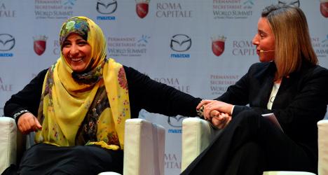Nobel winners express 'Cold War' fears in Rome