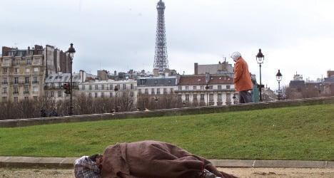 Five homeless men die as France freezes