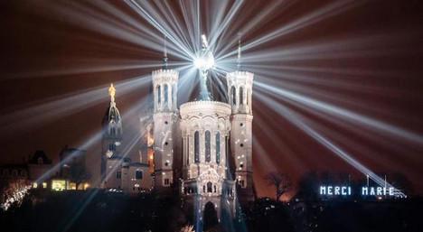 IN IMAGES: Lyon lights up for Fête des Lumières