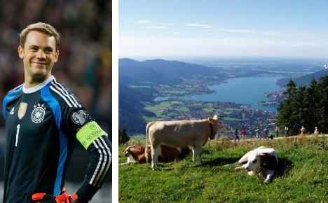 Back of the net for Neuer's dream villa