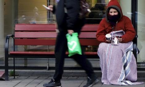 New shelter to open for Stockholm beggars