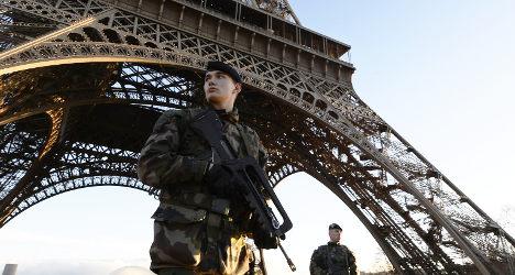 'It feels like I'm in a warzone': Paris tourist