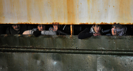 Hope turns to despair for 'ghost' ship migrants