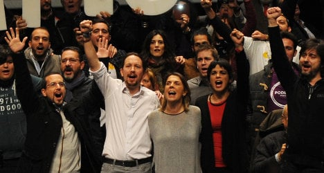 'We want to lead Spanish opposition': Podemos