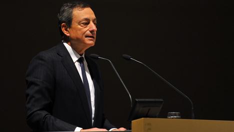 ECB's Draghi denies Italy presidential bid