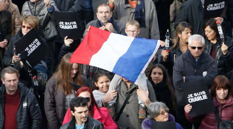 The unity march to help heal a wounded France
