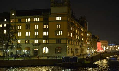 Sweden government HQ in 'white powder' scare
