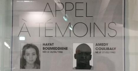 Hunt goes on for Paris gunman's girlfriend