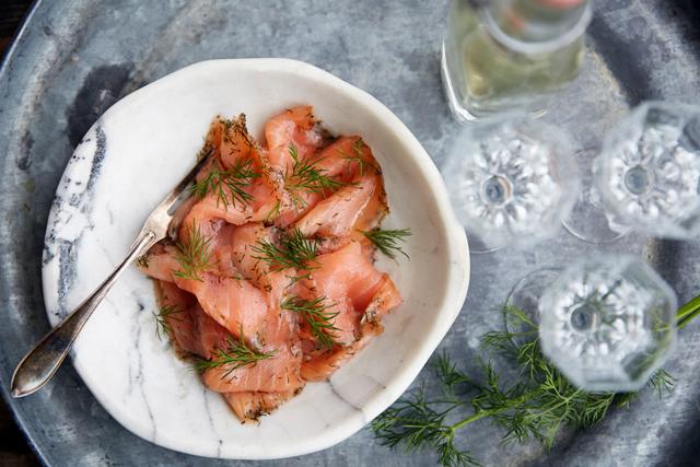 How to make classic Swedish gravad lax