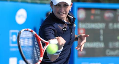 Upset sends Bacsinszky to Shenzhen Open final