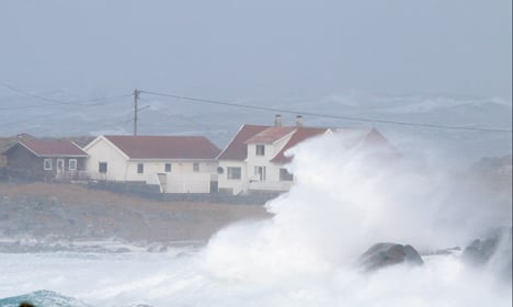 Storm strands ferry for over 24 hours