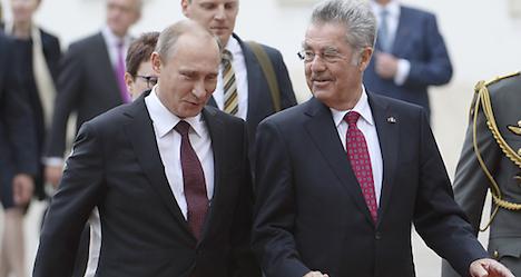 Austria's response to the Russian bear