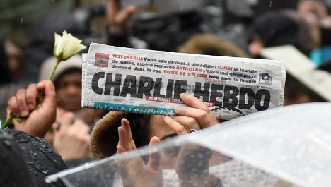 Charlie Hebdo copies sell for thousands online