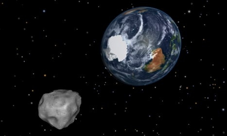 Swedes get scopes ready for giant asteroid
