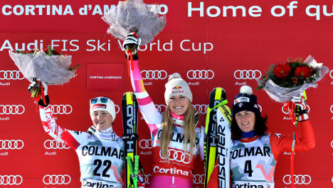 Vonn claims a record 63rd World Cup victory