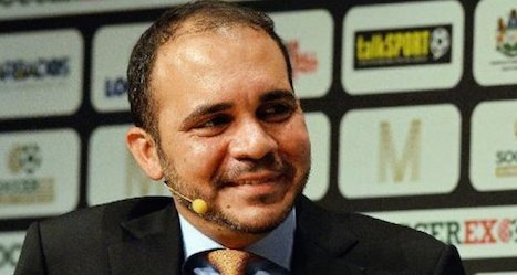 Jordanian prince to run for Fifa presidency