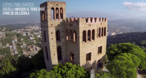 VIDEO: Drone lifts lid on 'hidden' Barcelona