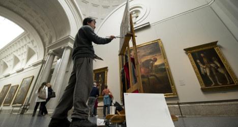 Do touch: Madrid's Prado opens expo for blind