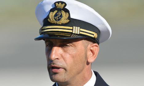 Bid to keep marine in Italy after heart op