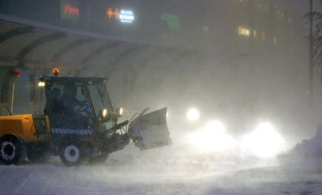 Stockholm to get 'gender equal' snow ploughs