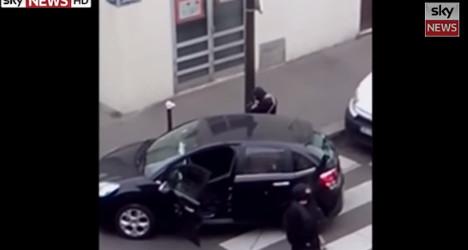 Shocking new video emerges of Paris attack