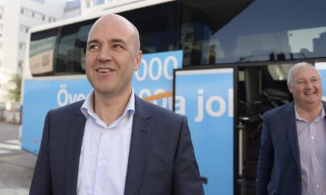 Fredrik Reinfeldt stays in Sweden but not politics