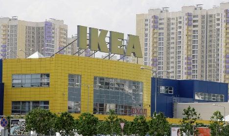 Sweden's Ikea rebuilds relations in Russia