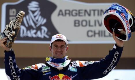 Spain's Coma claims fifth Dakar rally title