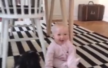 Swedish baby wins TV fame in US