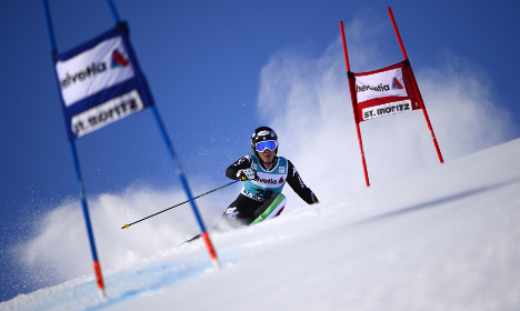 Italian skier wins World Cup downhill race