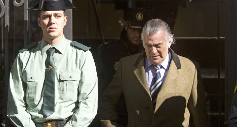 Bárcenas set to leave prison on Thursday