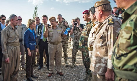 Sweden must 'share responsibility' for Iraq