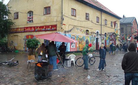 Denmark jails seven in Christiania drug case