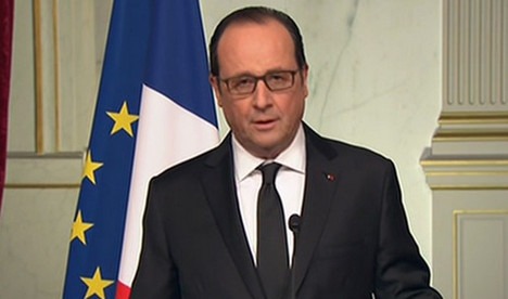 Hollande's popularity rating sees record leap