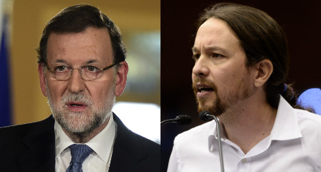 Spanish rivals take sides over Greek election