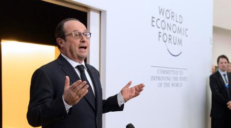 Hollande: 'Big business must help fight terror'