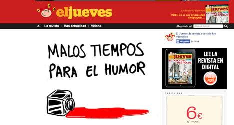 Spain's satirical mags back Charlie Hebdo
