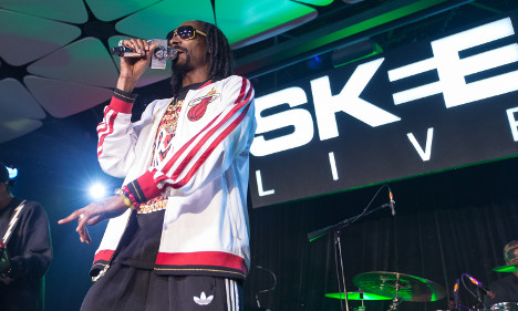 Snoop sweeps into Swedish 'Ikea' town