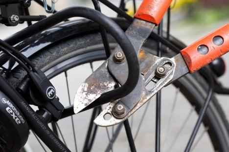 Police put a spoke in bike thieves' wheels