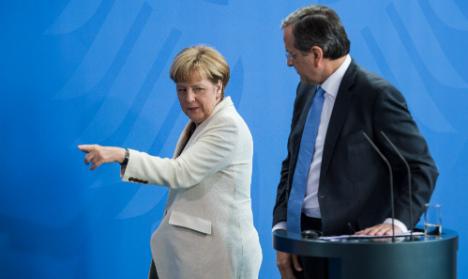Merkel ready to let Greece exit eurozone: report